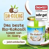 Bio Kokosöl von Dr. Goerg