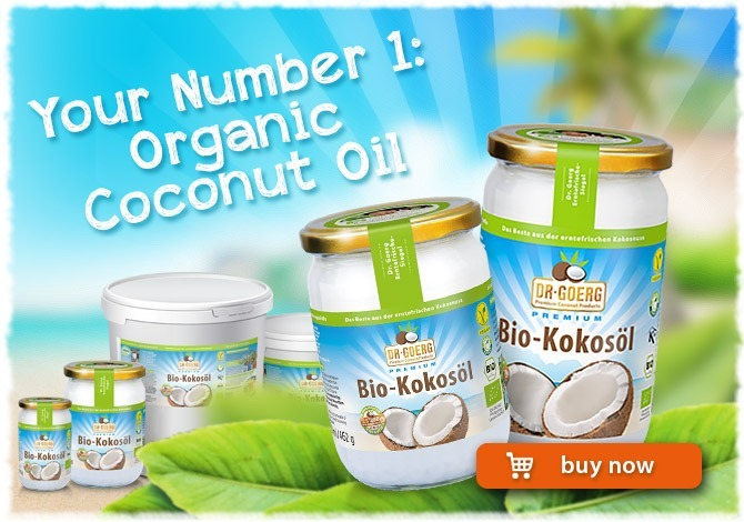 Number 1: Organic Coconut Oil