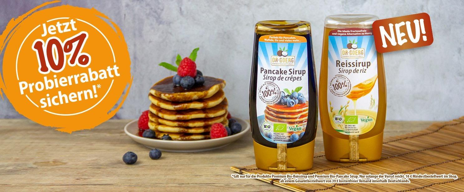 Bio-Pancakesirup