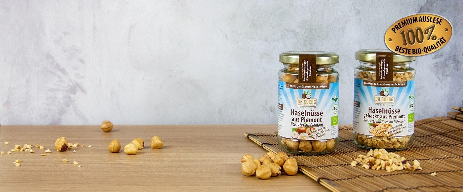 Piemont Bio-Haselnüsse