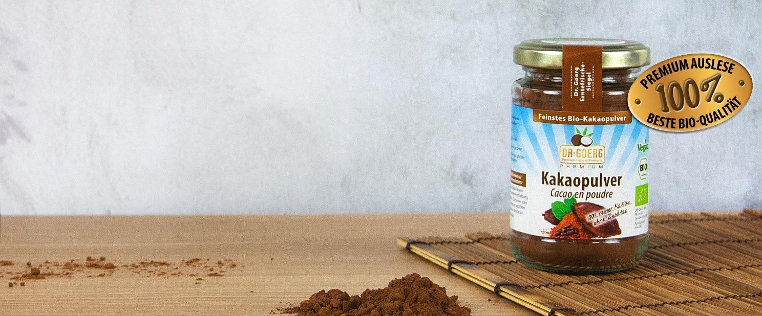 Feinstes Bio-Kakaopulver