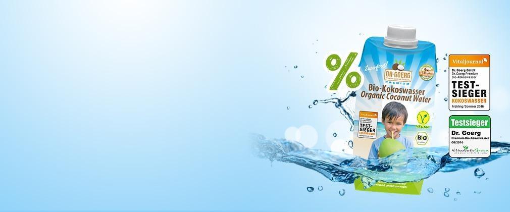 Bio-Kokoswasser