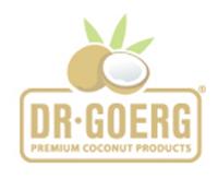 Dr. Goerg veganes Bio-Kokos-Mandelmus im 26 g-Glas