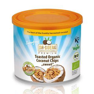 Chips de noix de coco bio premium / Coconut Chips, 125 g