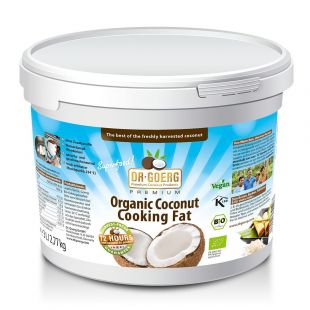 Coconut Cooking Fat, deodorised 3 l tub