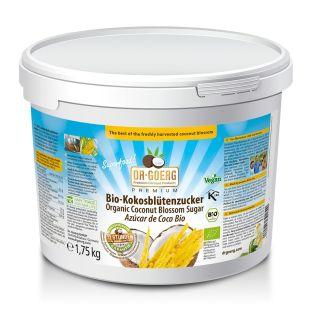 Sucre de fleur de coco bio premium / Coconut Sugar, 1750 g