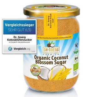Sucre de fleur de coco bio premium / Coconut Sugar, 280 g