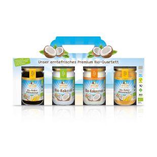Süßes Premium Bio-Quartett
