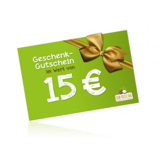 Karta upominkowa 15,00 EUR