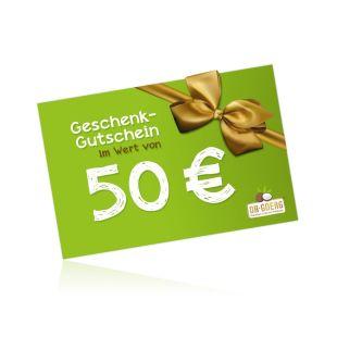 Karta upominkowa 50,00 EUR