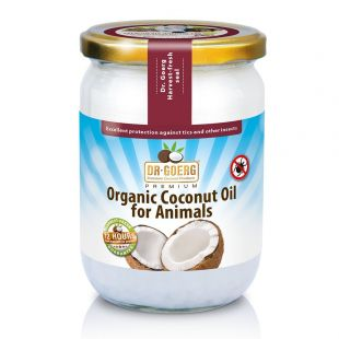 Huile de coco bio premium pour animaux / Oil for Animals, 500 ml