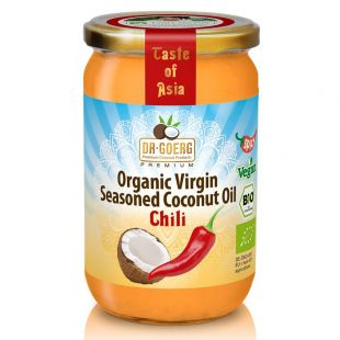 Organic coconut oil with chili extract 190 ml