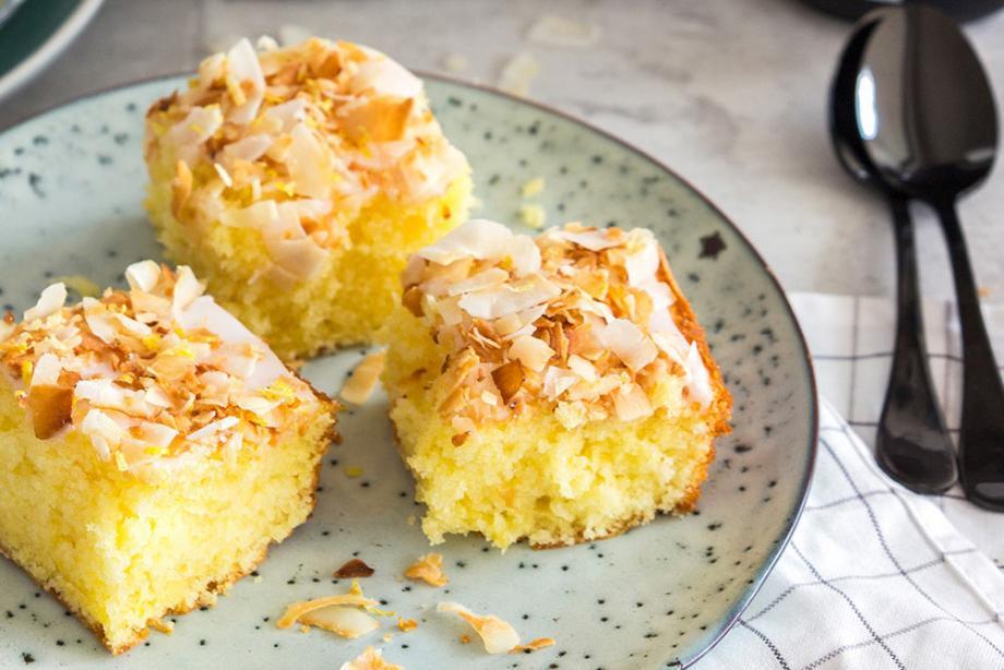 Kokos-Zitronenkuchen