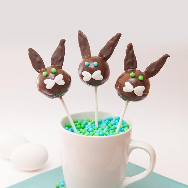 Conejos veganos de chocolate