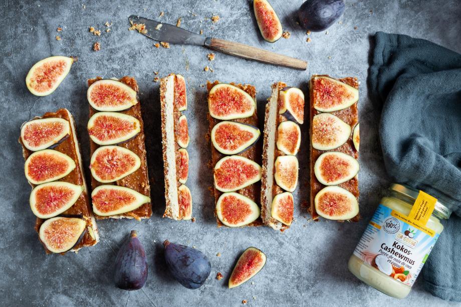 No-bake Feigen-Tarte