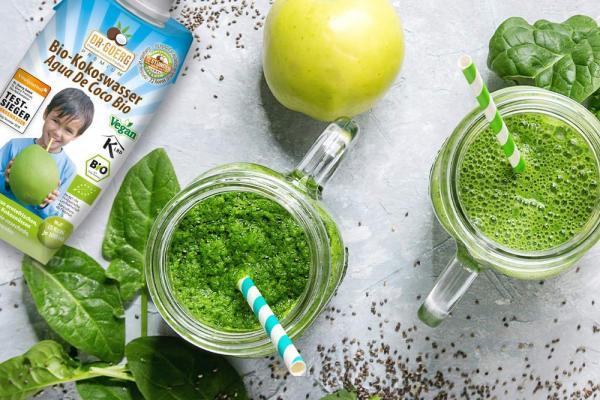 Anti-Kater-Smoothie mit Kokoswasser