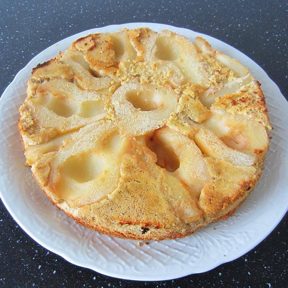 Glutenfreier Birnenkuchen