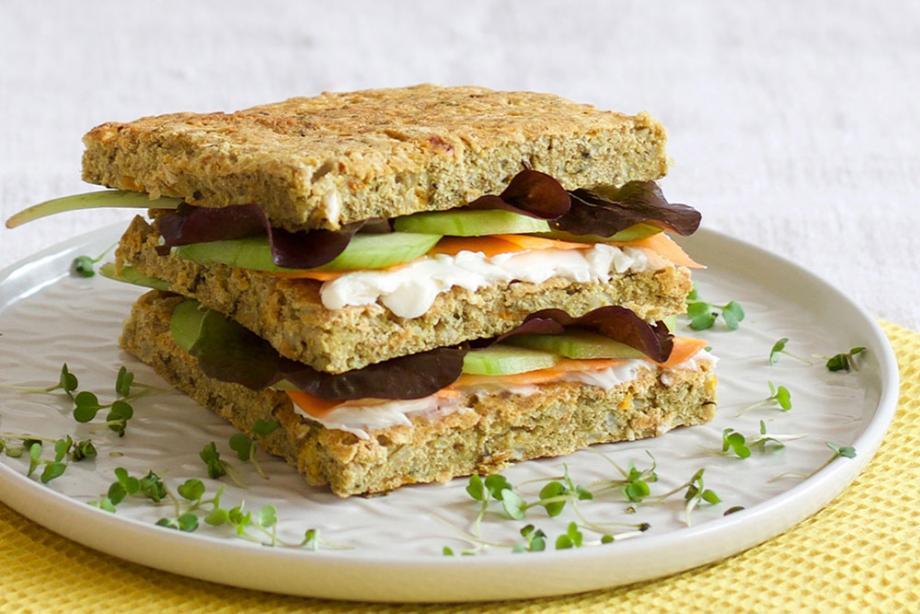 Knackiges Sommer-Sandwich