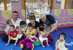 Große Freude im philippinischen Kinderheim