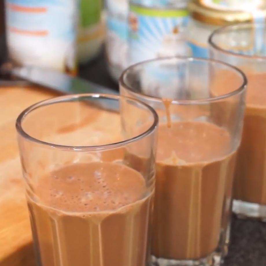 Lubrikator mit Kakao