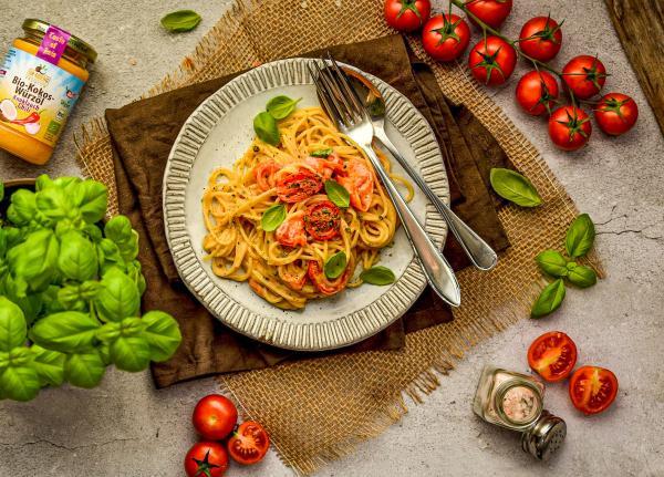 Foodtrend – Vegane Feta-Tomaten-Pasta
