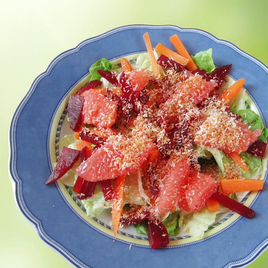 Rote-Beete-Salat mit Blutorange