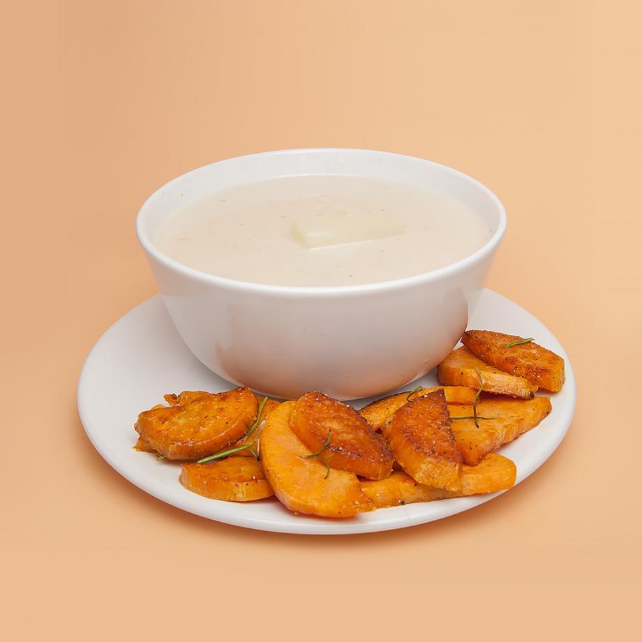 Spargel-Kokos-Suppe