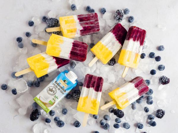Tropic Coconut Chia Popsicles