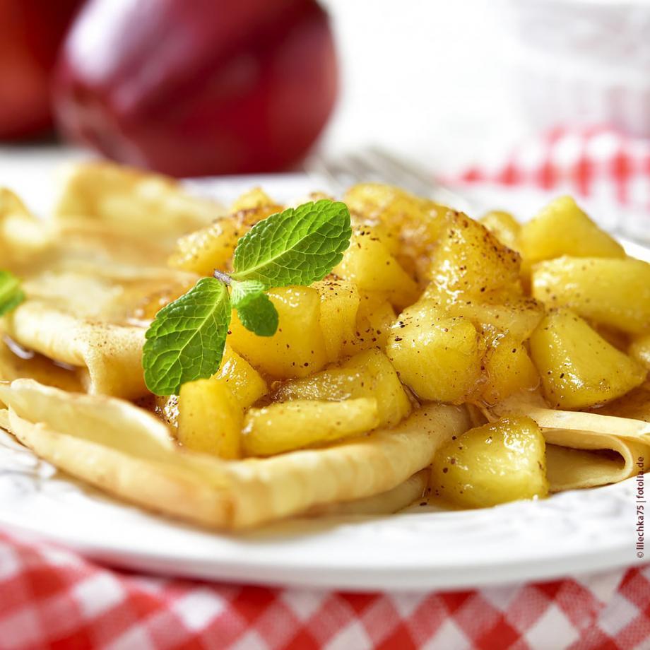 Apfel-Zimt-Dessert