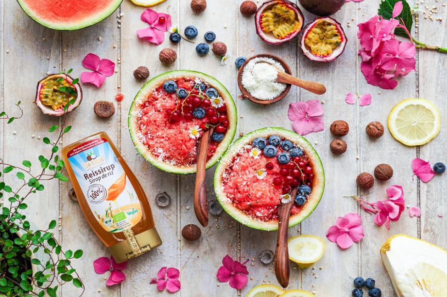 Wassermelonen Slush-Eis aus nur 5 Zutaten
