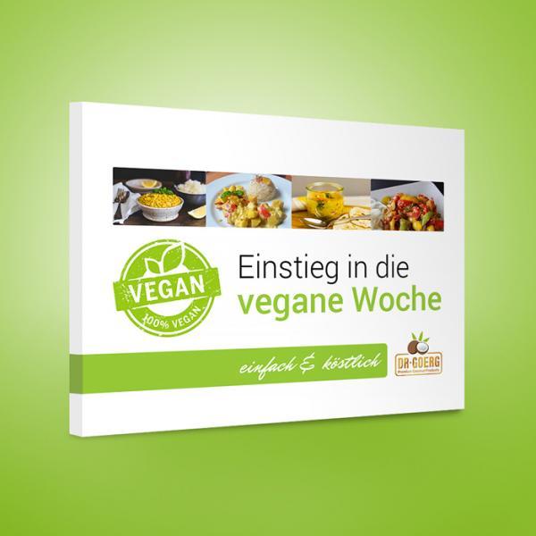Neues Rezeptbuch - Einstieg in die vegane Woche