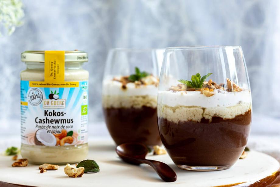 Veganes Mousse au Chocolate