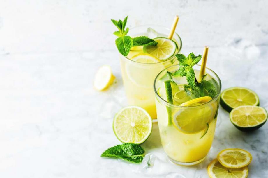 Minz-Zitrus-Limonade selbermachen