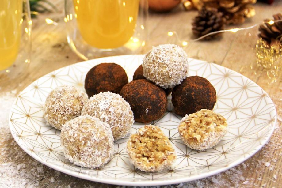 Energy Balls mit Kokosöl