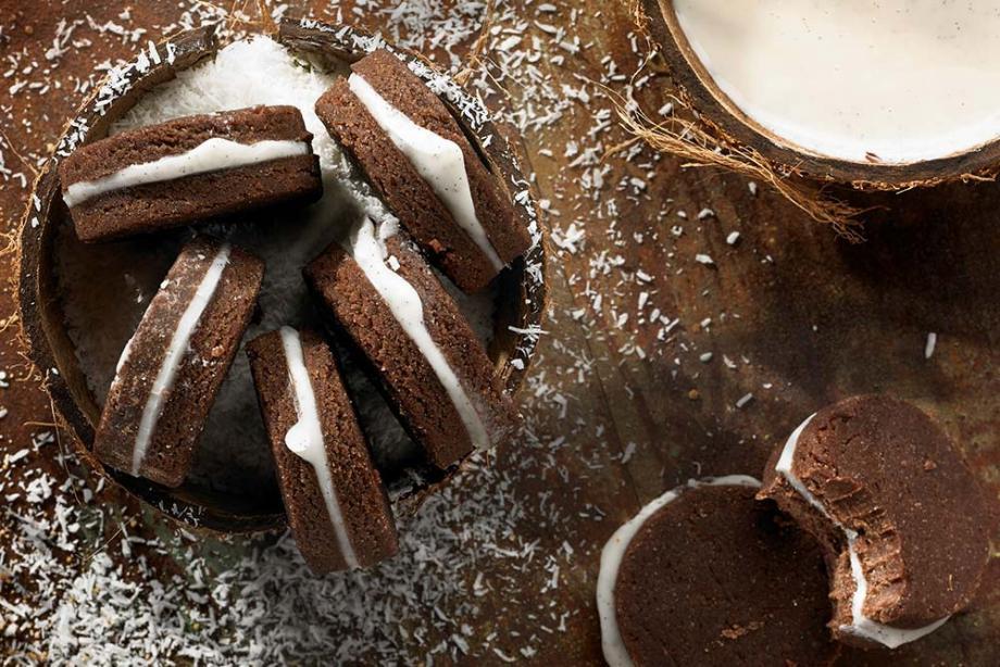 Kokos-Schoko-Kekse