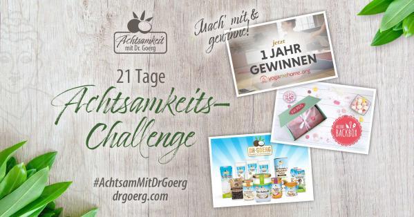 Achtsam mit Dr. Goerg - die 21-Tage-Challenge!