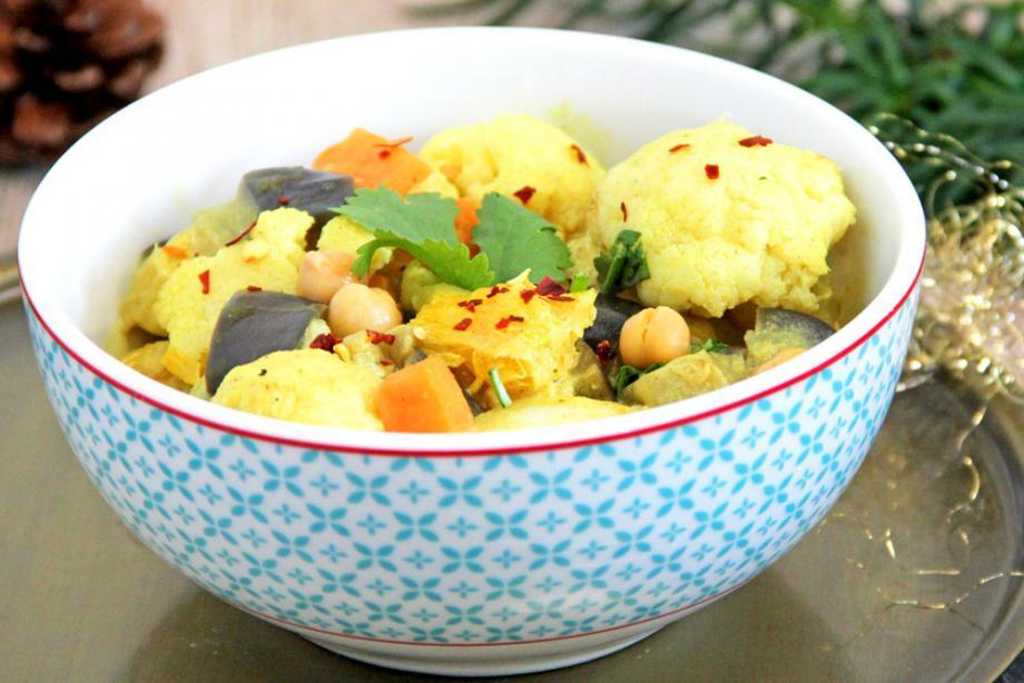 Kokos-Blumenkohl-Curry