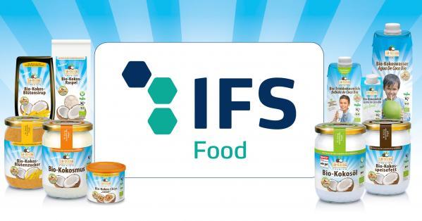 IFS Food 6.1 – Zertifikat für Dr. Goerg