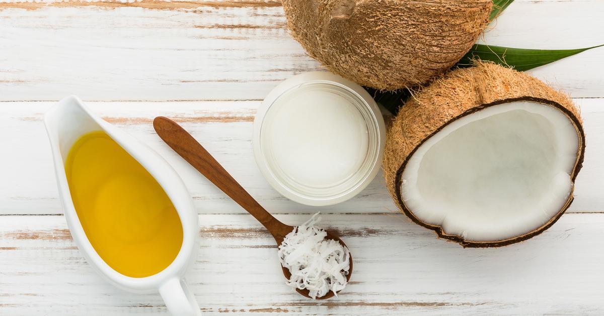 Griechisches Kokos-Peeling