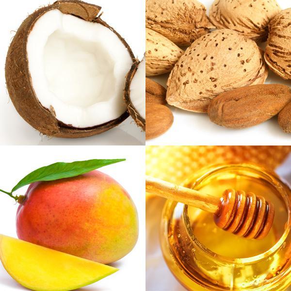 Nahrhafte Mango-Kokosöl-Maske