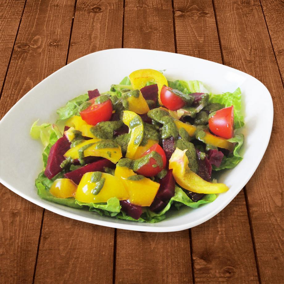 Salat-Dressing mit Moringa