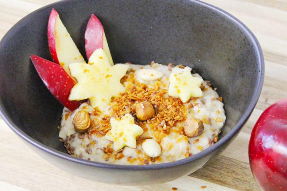 Porridge mit Kokosmehl