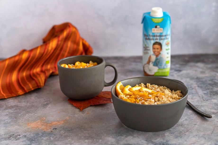 Kokos-Milchreis mit Quinoa