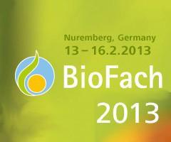 Dr. Goerg ist auch wieder 2013 auf der BioFach Messe