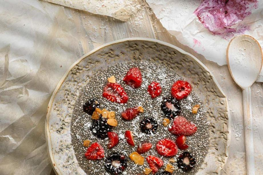 Chia Kokos Pudding