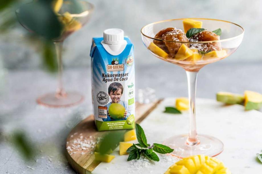 Mango-Sorbet aus nur 4 Zutaten