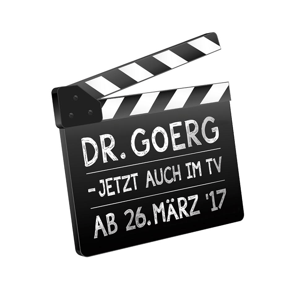 Dr. Goerg im TV - die erste Kokos-Fernsehwerbung