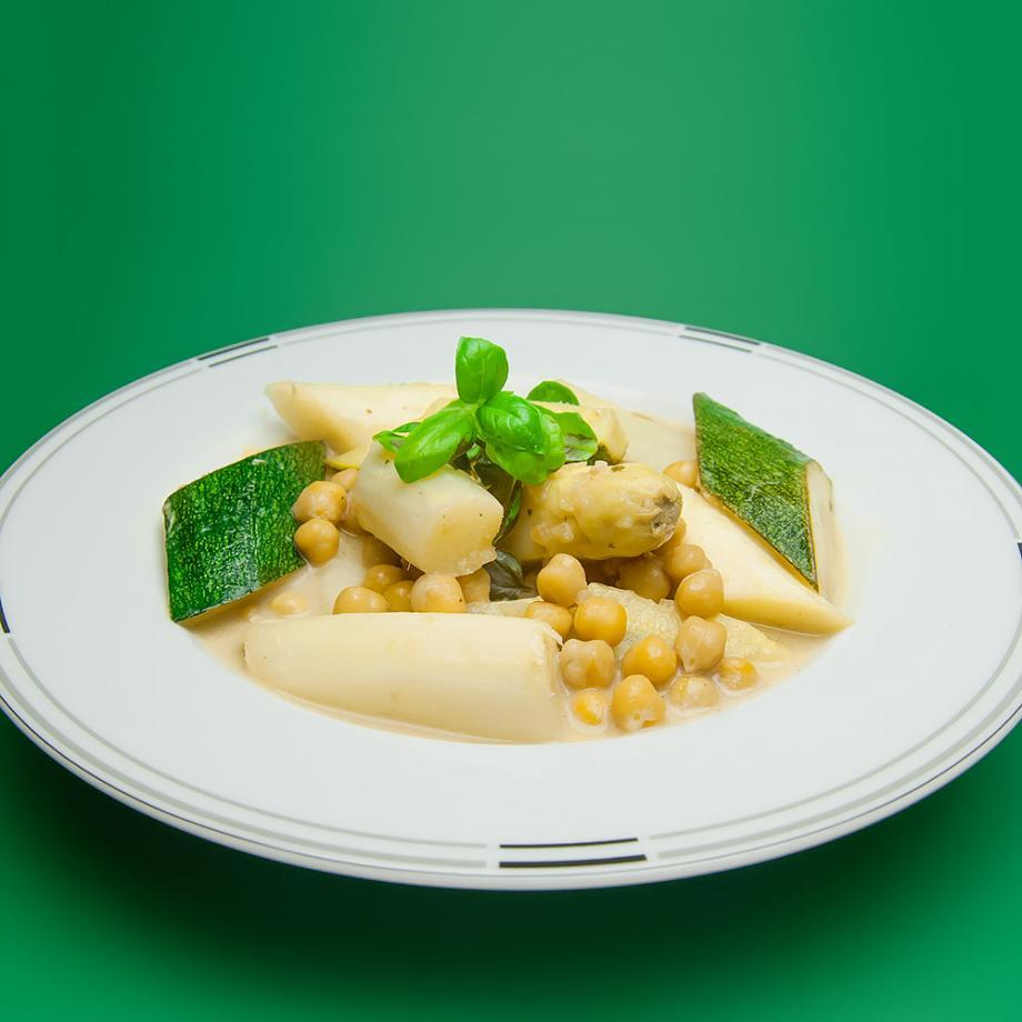 Spargel-Curry mit Kokosmilch