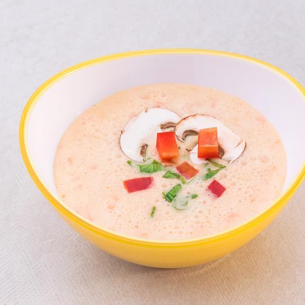 Thai-Suppe mit Kokos