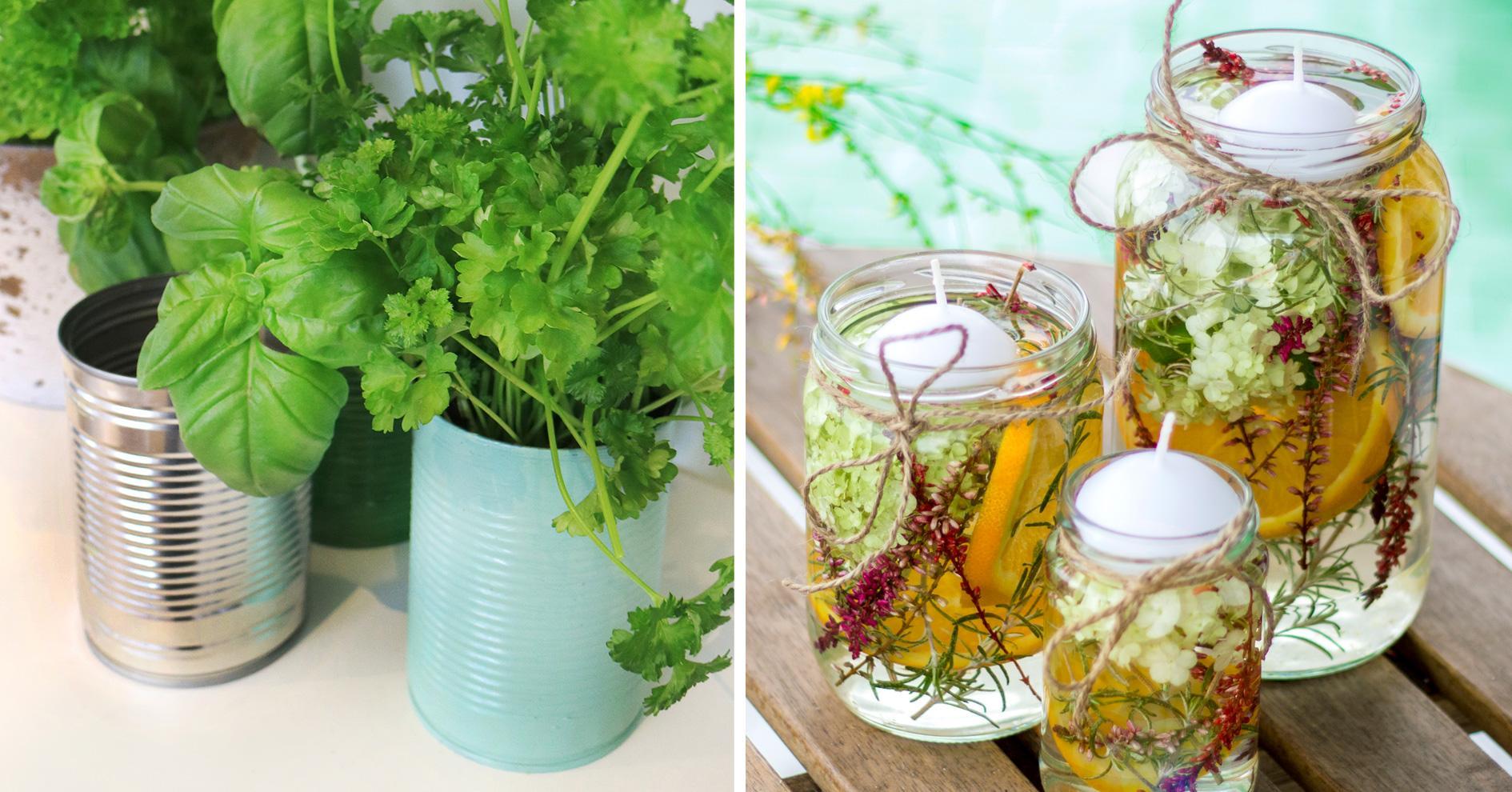 DIY-Ideen mit Dosen & Gläsern von Dr. Goerg